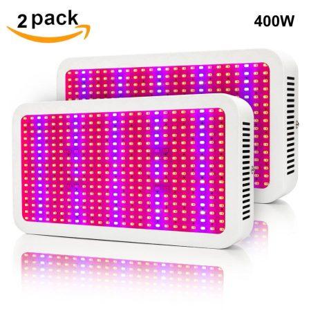 Növénylámpa Üvegház világítás növénynevelő LED fény 800W extra UV és IR leddel