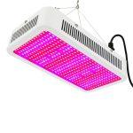 Növénylámpa Üvegház világítás növénynevelő LED fény 400W extra UV és IR leddel