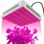 800W Növénylámpa Üvegház világítás növénynevelő LED fény extra UV és IR leddel