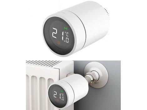 Intelligens radiátor termosztát alkalmazásvezérléssel hangvezérléssel