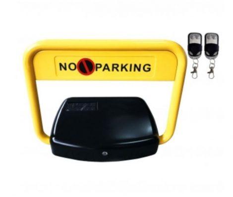 Parkolóőr távirányítós, extra széles, távvezérelhető, napelemes, akkumulátoros, elektromos parkolásg