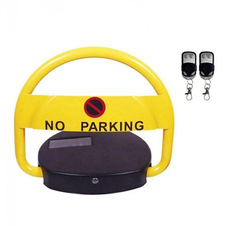 Parkolóőr távirányítós, távvezérelhető, napelemes, akkumulátoros, elektromos parkolásgátló