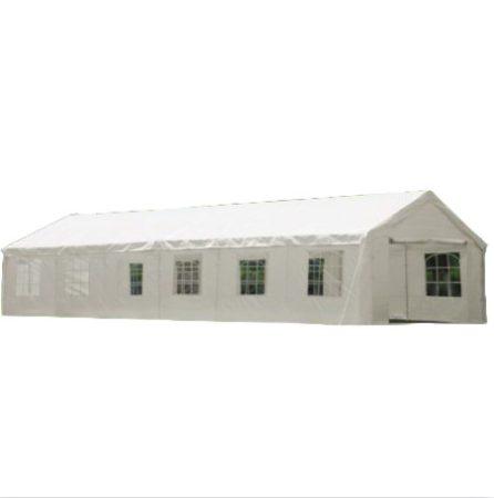 Rendezvénysátor sörsátor modern stílusú 6x12 méter, 72 m²-es fehér