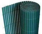 Belátásgátló műnád 200x300 cm zöld színben kerítés takaró tekercs szélfogó PVC