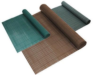 Belátásgátló műnád 90x300 cm szürke színben kerítés takaró tekercs szélfogó pvc