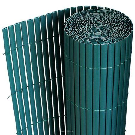 Belátásgátló műnád 90x300 cm türkisz színben kerítés takaró tekercs szélfogó pvc