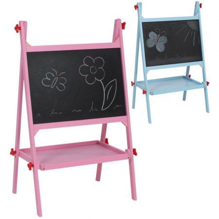 Gyerek rajztábla rózsaszín mágneses