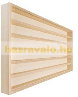 Fali vitrin modell szekrény polc 60x100 cm kisautó, modellvasút gyűjtő