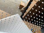 Esőztetős zuhanyzó Zuhanyfej szögletes 50x50 cm a legnagyobb méret