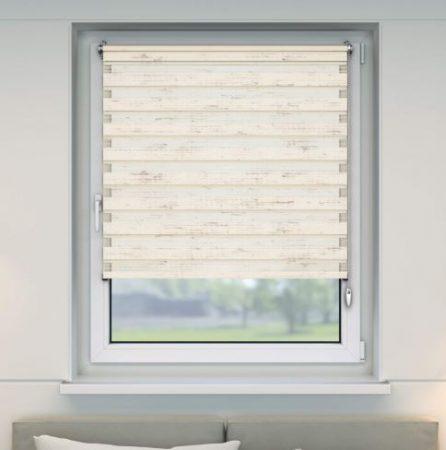 Sávos roló függöny márvány színben 70x150 fúrás nélküli ablak árnyékoló