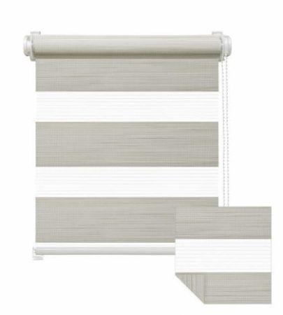 Sávos roló sötétítős függöny homokszínű 60x160 cm