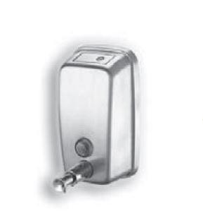 Szappanadagoló rozsdamentes acélból falra szerelhető 0,5 literes