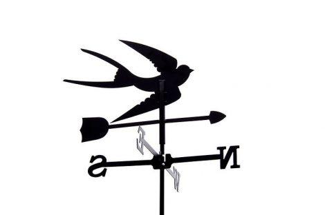 Szélkakas fecske kisméretű szélirányjelző