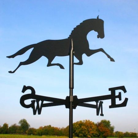 Szélkakas ló kisméretű 45x67 cm