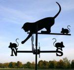 Szélkakas macska nagyméretű 59x100 cm