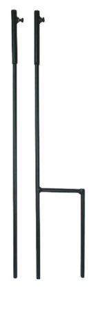 Szélkakas földbe szúrható Szélirányjelző tartó 150 cm