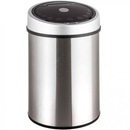 Érzékelő szemetes ezüst 40 L