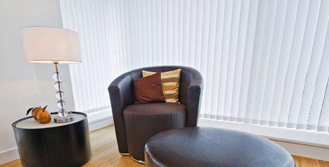 Szalagfüggöny 100 cm széles 250cm hosszú, szabadon rövidíthető lamellás függöny  pl. 100x120 100x150