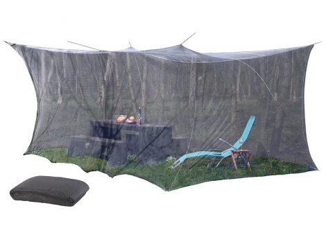XXL szúnyogháló,  300 x 500 x 250 cm, fekete