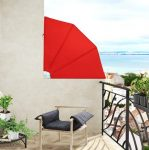 Erkély terasz függőleges napellenző több színben  térelválasztó szélfogó napvédő L méret