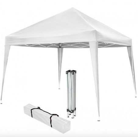 Árnyékoló sátor pavilon 3x3 m kerti party sátor összecsukható pavilon több színben