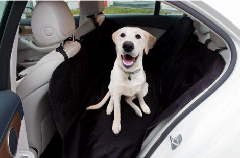 Floor autó ülésvédő huzat kutya szállításhoz 155x166 cm