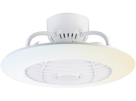 Mennyezeti ventilátor Világítás és hűtés egyben 30 cm átmérő állítható színhőmérsékletű 24W lámpa