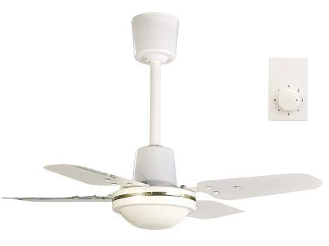 Mennyezeti kompakt ventilátor, Ø 61 cm, 3 fokozatú, fém szárnyakkal, 70W