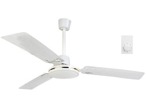 Mennyezeti ventilátor 3 fém forglólapáttal,  Ø 91 cm, 70W