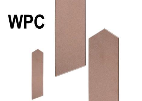 WPC kerítésléc dió 130 cm WPC kerítés kerítéselem