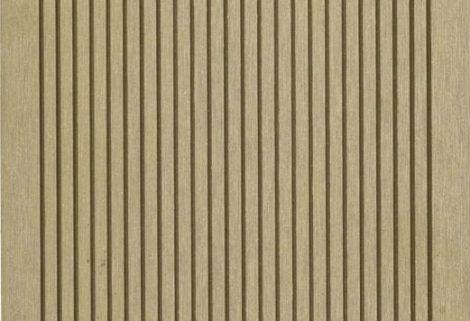 WPC padlólap 3 méteres szál 2,5*14*300cm, Fahatású Cumaro burkolat Matt, csúszásmentes felület