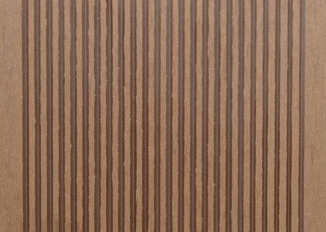 WPC padlólap 3 méteres szál 2,5*14*300cm, Fahatású indiai teak burkolat Matt, csúszásmentes felület