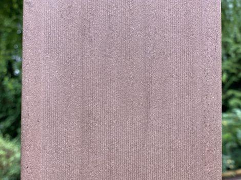 WPC lap kerítésléc 90 cm hosszú mahagóni barna kerítéselem