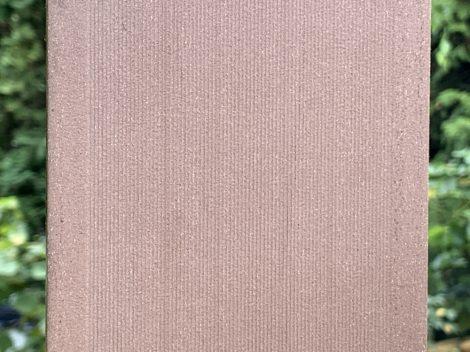 WPC kerítésléc 90 cm hosszú Merbau vörösesbarna kerítéselem