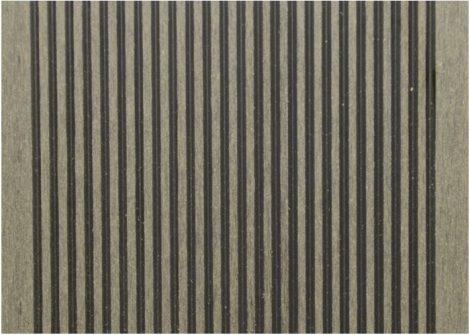 WPC padlólap 3 méteres szál 2,5*14*300cm, Fahatású ébenfa burkolat Matt, csúszásmentes felület