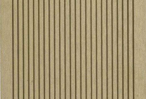 WPC padló 4 méteres szál 2,5*14*400cm, Fahatású Cumaro burkolat Matt, csúszásmentes felület