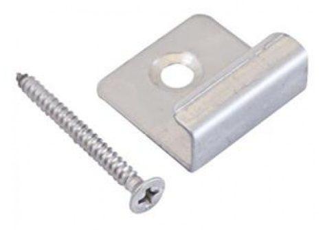 WPC párnafa rögzítő lemez és csavar készlet