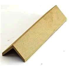 Élzáró WPC padlólap sarokléc 4,5x4,5x300 cm Fahatású Cumaro takaróléc
