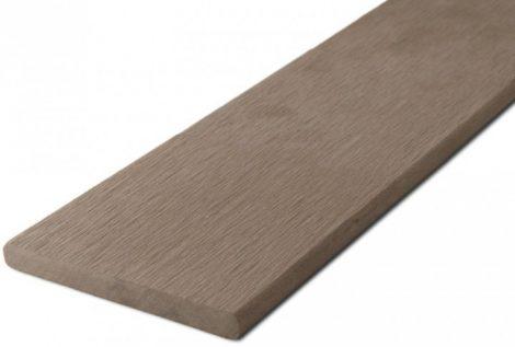 Takaróléc WPC padlólap 0,9x9x200 cm Fahatású indiai teak élzáró