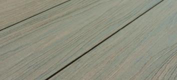 WPC padlólap Woodlook Exclusive típus, Antic szín 4 méteres szál 145x21x4000 mm igazi fahatású kétol