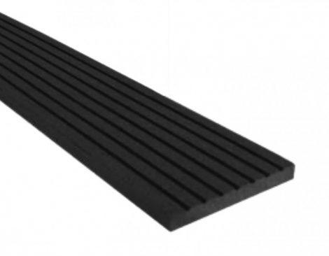 WPC léc 80x10x2200 oldatakaró léc sötétszürke Antracit 2,2 méteres szál
