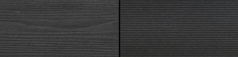 WPC padlólap Woodlook Natúr típus, 2,2 méteres szál 150x24x2000 mm igazi fahatású kétoldalas Antraci