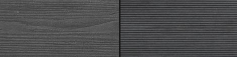 WPC padlólap Woodlook Natúr típus, 4 méteres szál 150x24x2000 mm igazi fahatású kétoldalas Grafit