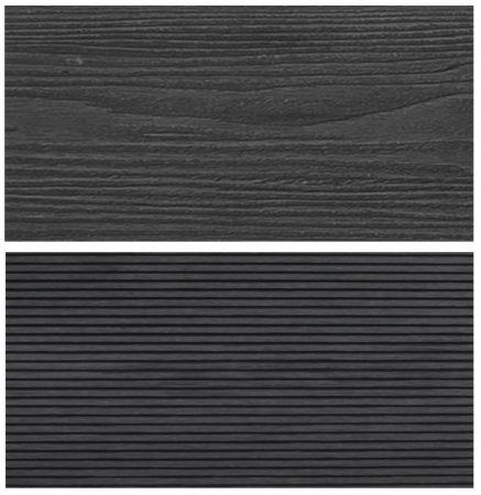 WPC padlólap Woodlook Natúr típus, 4 méteres szál 150x24x4000 mm igazi fahatású kétoldalas barna