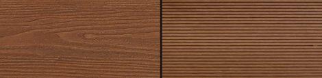 WPC padlólap Woodlook Natúr típus, 4 méteres szál 150x24x2000 mm igazi fahatású kétoldalas barna Mer