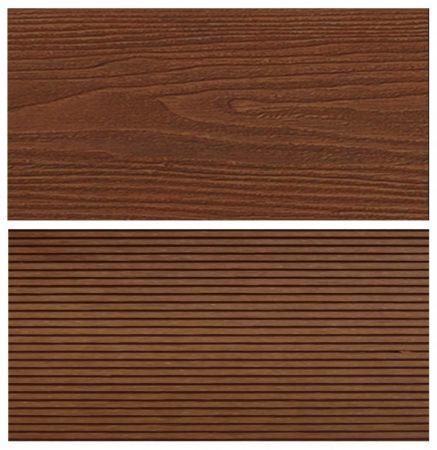 WPC padlólap Woodlook Natúr típus, 4 méteres szál 150x24x4000 mm igazi fahatású kétoldalas barna Mer