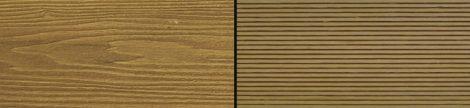 WPC padlólap Woodlook Natúr típus, 2,2 méteres szál 150x24x2000 mm igazi fahatású kétoldalas Teak