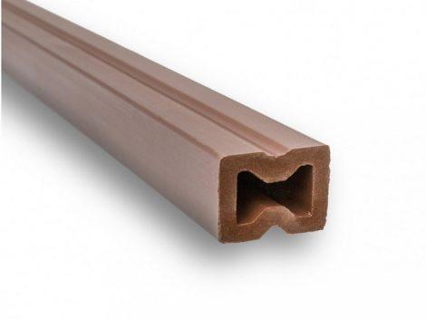 WPC padlólap párnafa 40x30x220 cm 2,2 méteres szál Méterenkénti ár!