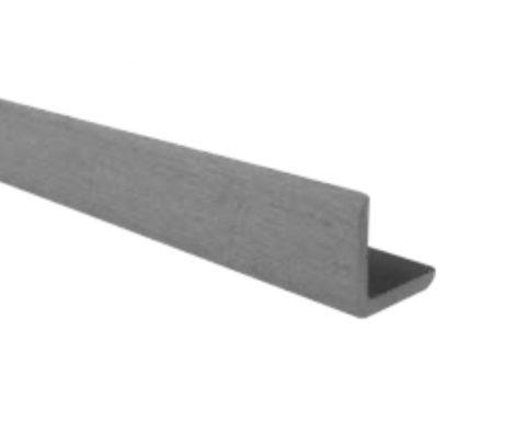 WPC sarokléc 35x48x2200 mm szürke Grafit színű 2,2 méteres szál Méterenkénti ár! WoodLook