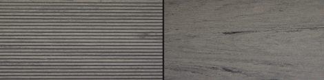 WPC padlólap Woodlook Natúr típus, 4 méteres szál 130x18x4000 mm igazi fahatású kétoldalas